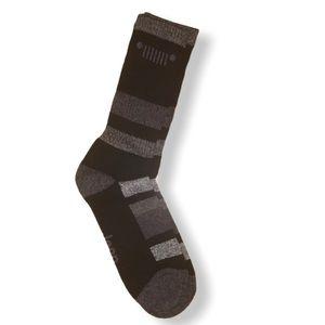 Jeep logo Striped Socks NWOT